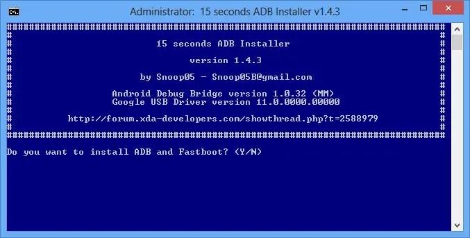 Download 15 Seconds ADB Installer