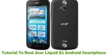 Root Acer Liquid E2