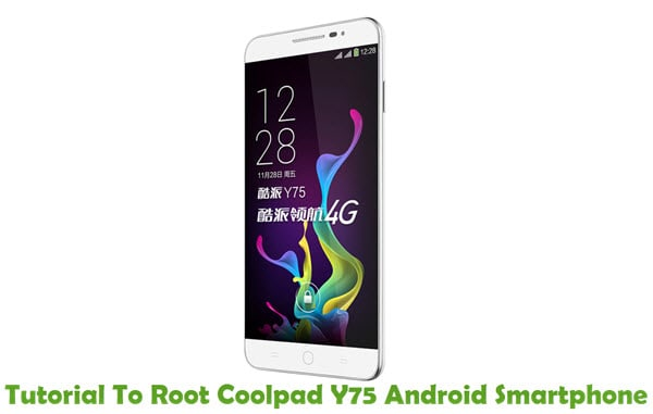 Root Coolpad Y75