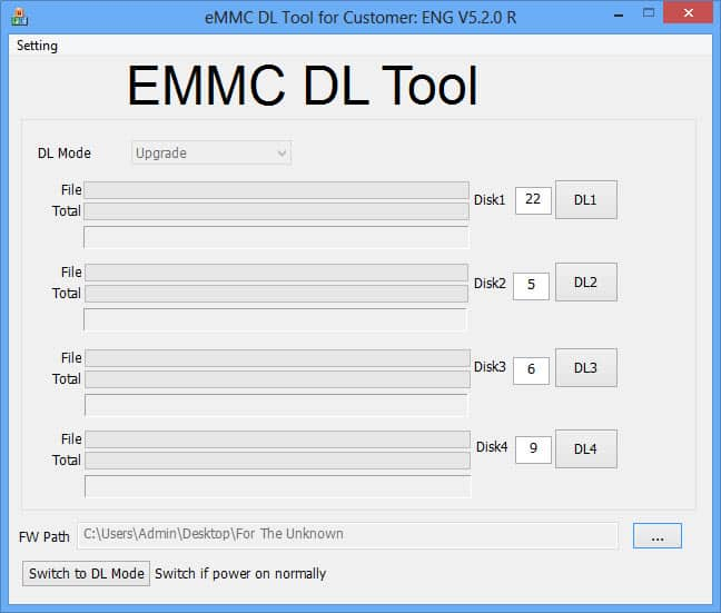 Download EMMC DL Tool v5.2.0 (Latest Version)