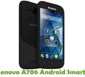 How To Root Lenovo A706 Android Smartphone
