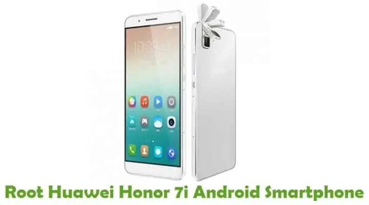 Root Huawei Honor 7i