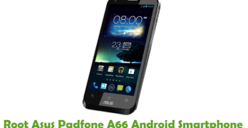 Root Asus Padfone A66
