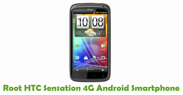 How To Root HTC Sensation 4G Android Smartphone
