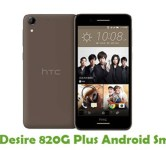 How To Root HTC Desire 820G Plus Android Smartphone