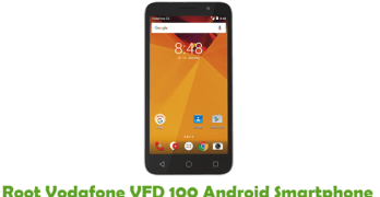 Root Vodafone VFD 100