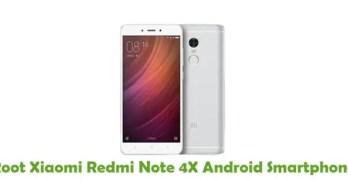 Root Xiaomi Redmi Note 4X