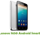 How To Root Lenovo S650 Android Smartphone