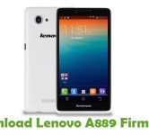 How To Root Lenovo A889 Android Smartphone