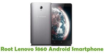 Root Lenovo S860
