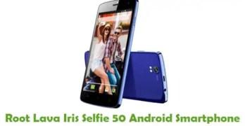 Root Lava Iris Selfie 50