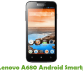 How To Root Lenovo A680 Android Smartphone
