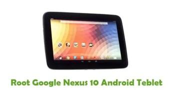 Root Google Nexus 10