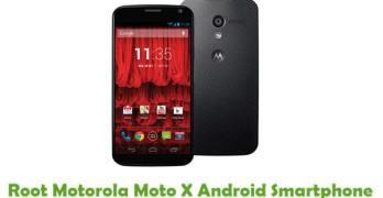 Root Motorola Moto X