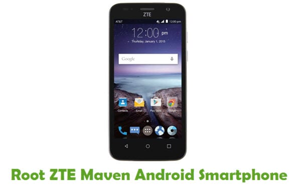 How To Root ZTE Maven Android Smartphone