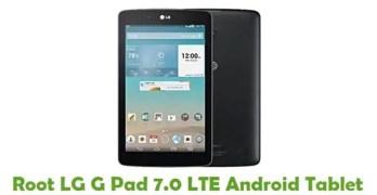 Root LG G Pad 7.0 LTE