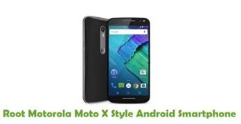 Root Motorola Moto X Style