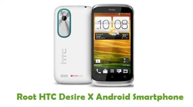 Root HTC Desire X