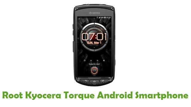 Root Kyocera Torque Android Smartphone