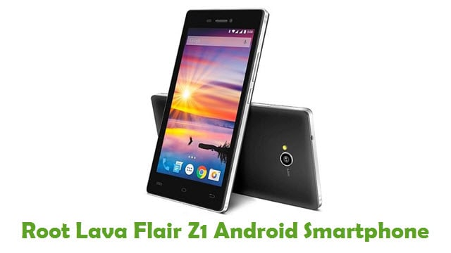 Root Lava Flair Z1 Android Smartphone