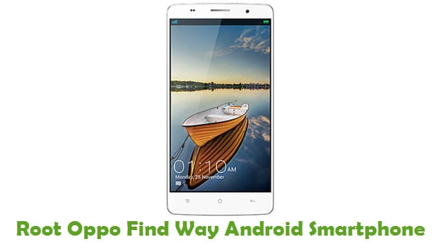 Root Oppo Find Way