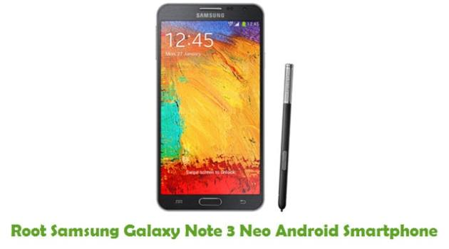 Root Samsung Galaxy Note 3 Neo