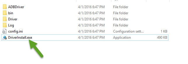 DriverInstall exe File