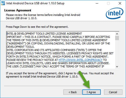 Intel License Agreement