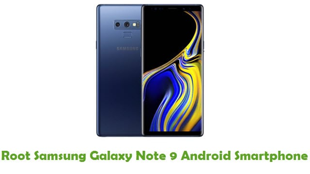 Root Samsung Galaxy Note 9