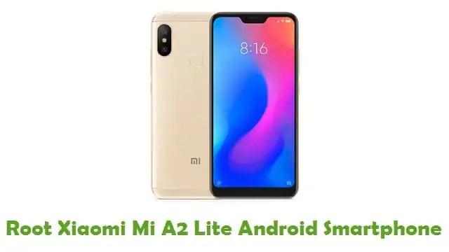 Root Xiaomi Mi A2 Lite