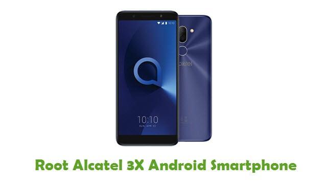 Root Alcatel 3X