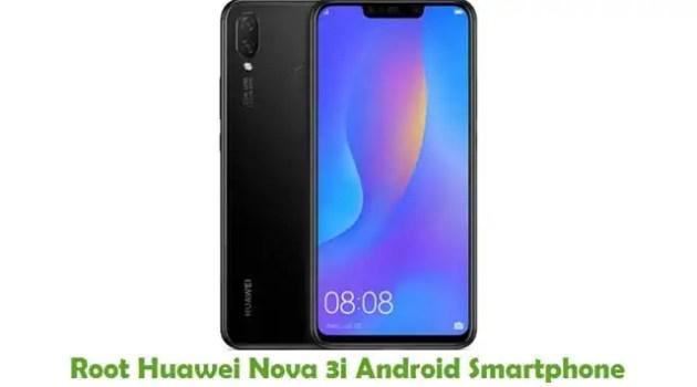 Root Huawei Nova 3i