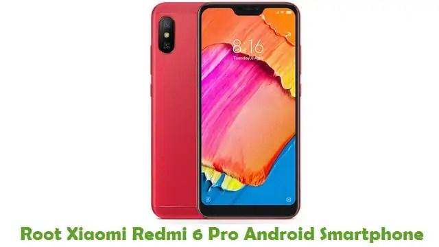 Root Xiaomi Redmi 6 Pro