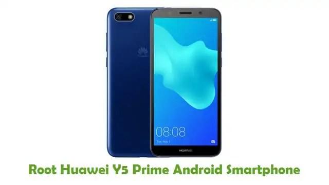 Root Huawei Y5 Prime