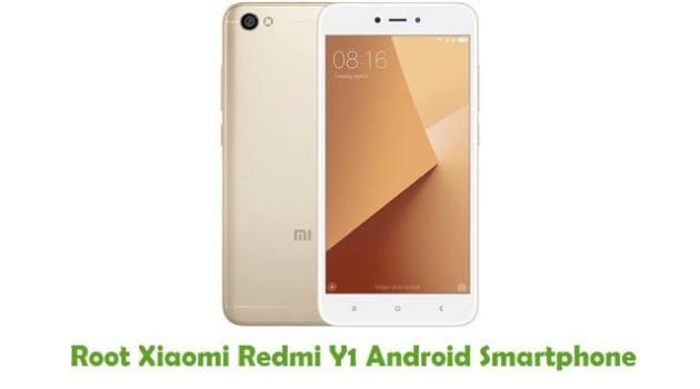 Root Xiaomi Redmi Y1