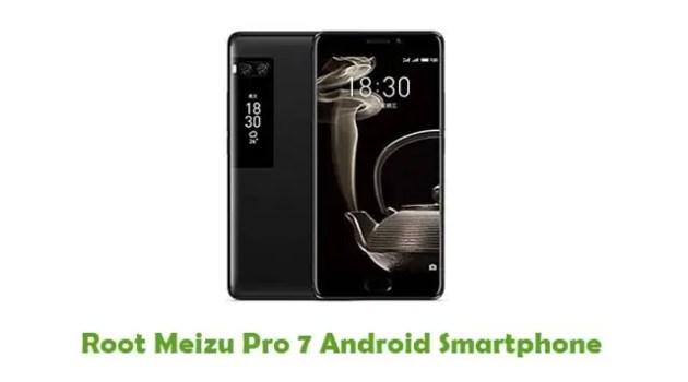 Root Meizu Pro 7
