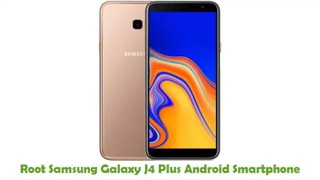 Root Samsung Galaxy J4 Plus