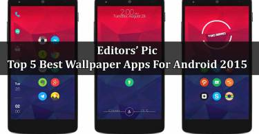 Top 5 Best Wallpaper Apps For Android 2015