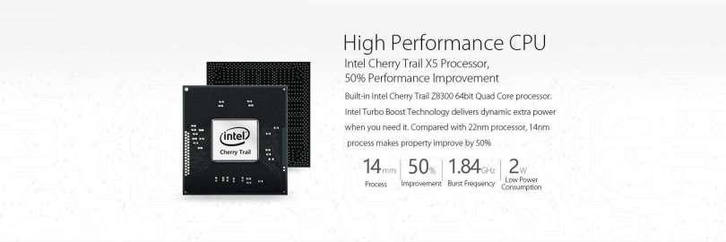 Onda V80 Plus CPU