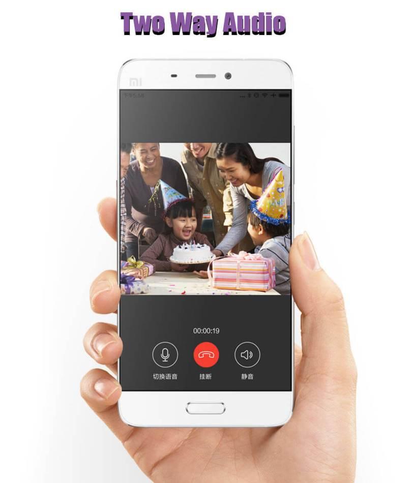 2 Way Audio Xiaomi Web Cam