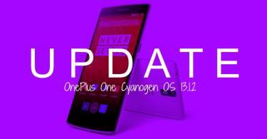 Install OnePlus One Cyanogen OS 13.1.2 ZNH2KAS3P0 OTA Update