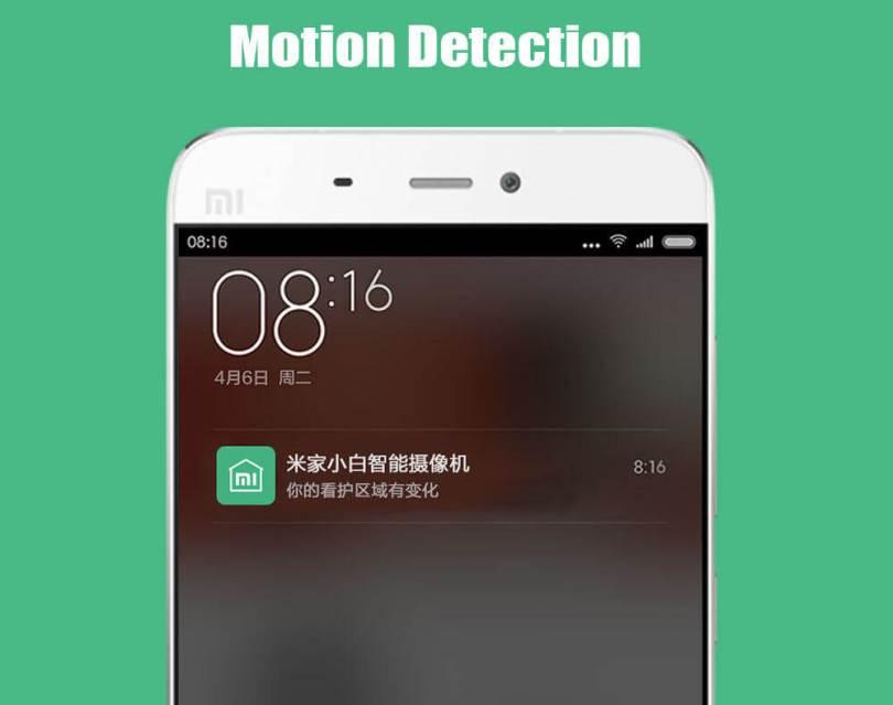 Mototion detection Xiaomi Web Cam