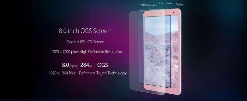 Onda V80 SE Tablet PC Display
