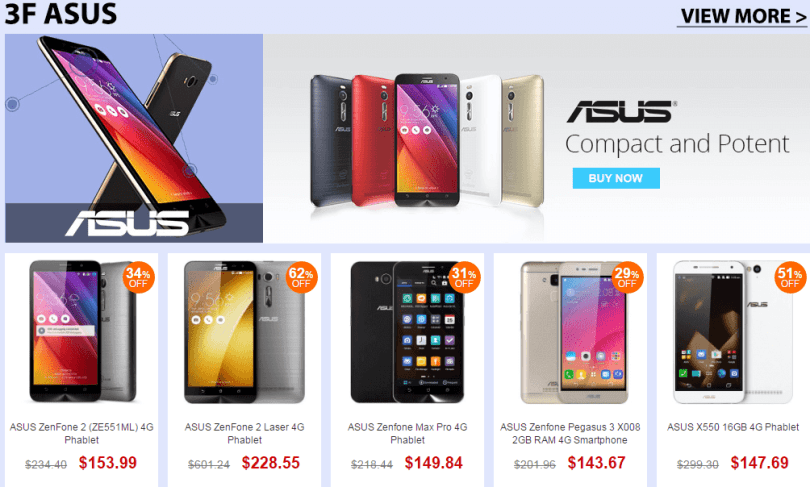 Top Brand Smart Phone Sale- Asus