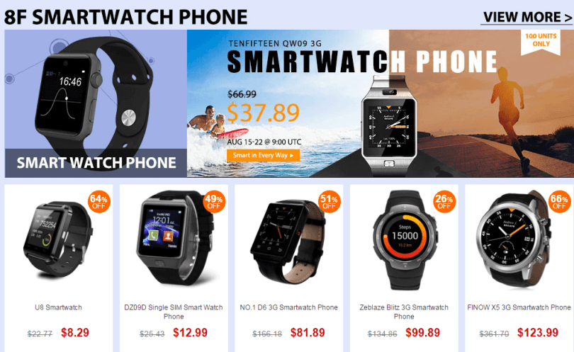 Top Brand Smartwatch Sale