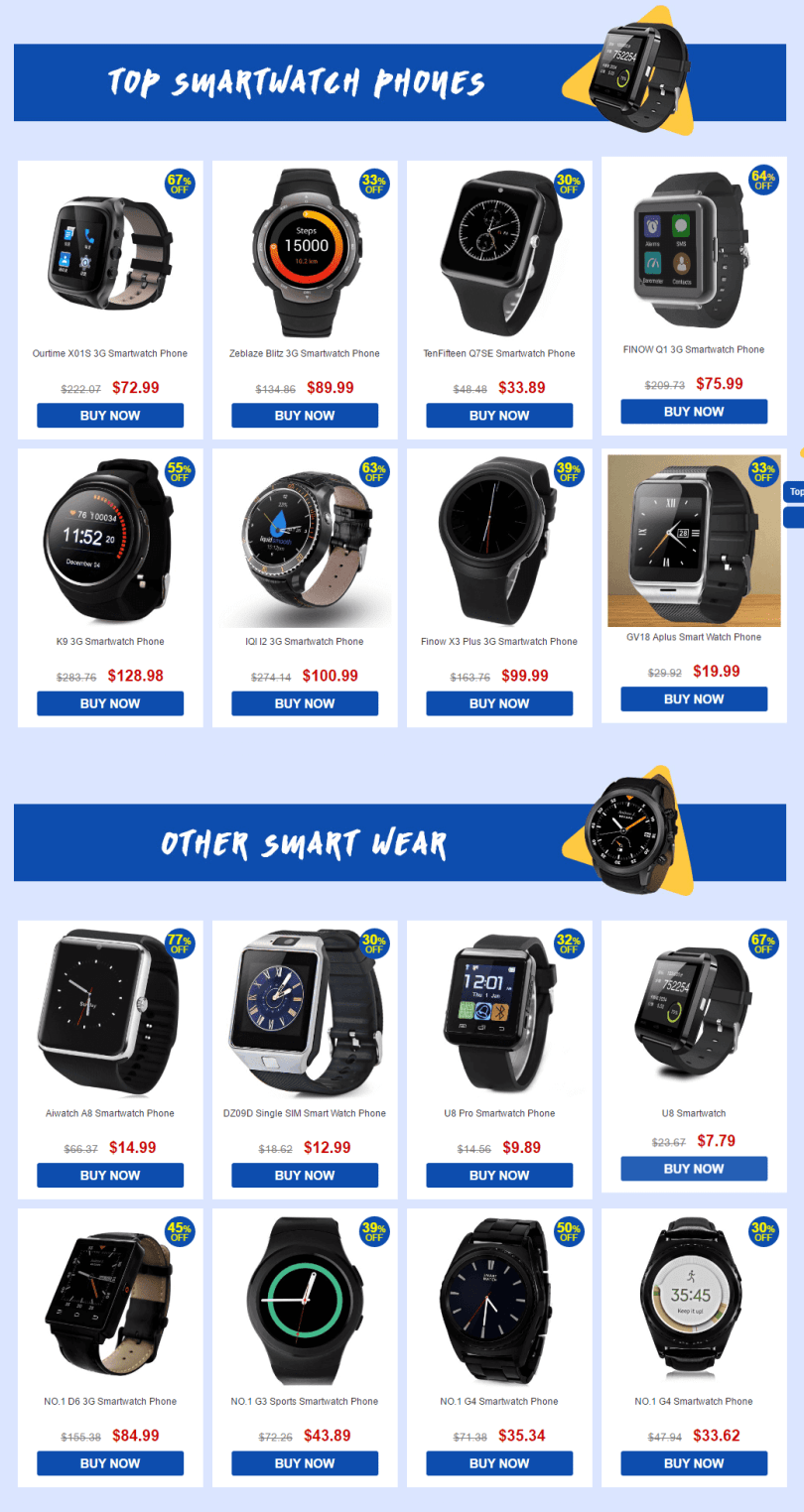 the-biggest-smartwatch-phone-sale-products-list