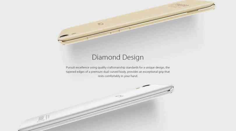 UMi Diamond 4G Smartphone Design