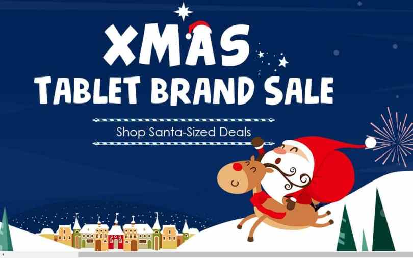 Gearbest's Xmas Tablet Brand Sale