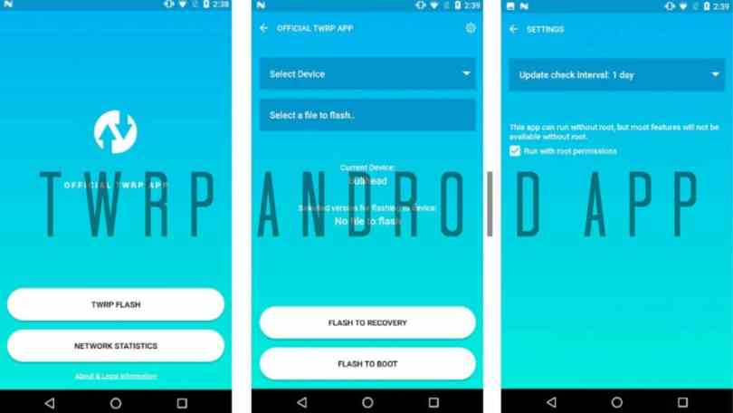 Download Latest Official TWRP Android APP