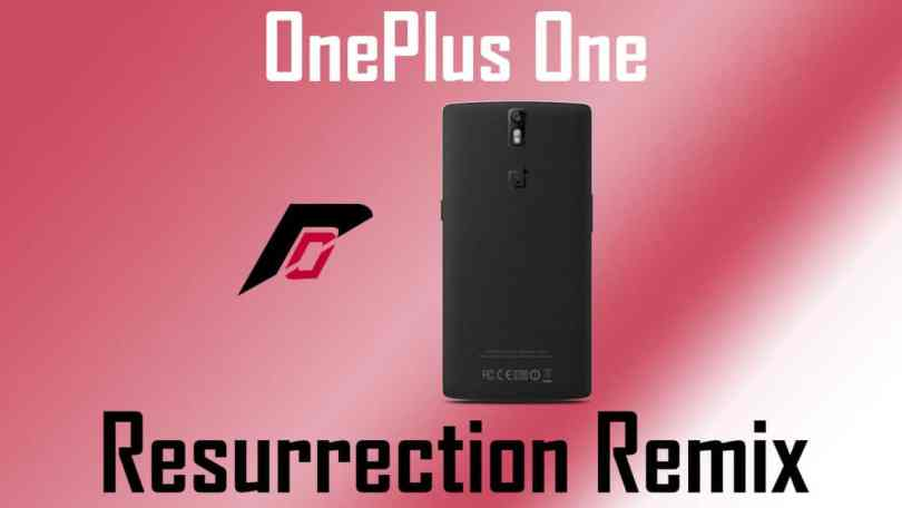Resurrection Remix on OnePlus One